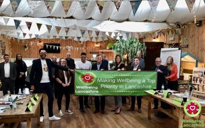 The North West Centre for Business & Team Wellbeing launches at The Wellbeing Farm and becomes the home of Wellbeing Lancashire